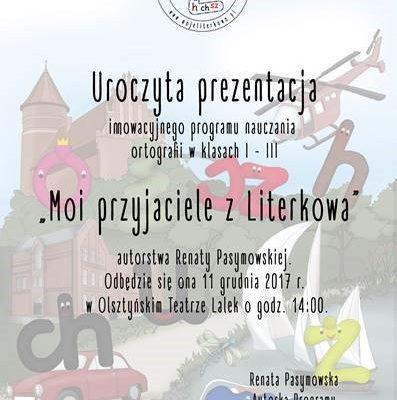 Prezentacja Literkowo - Teatr Lalek Olsztyn 11 grudnia 2017